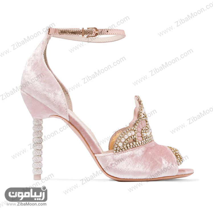 کفش عروس مخملی