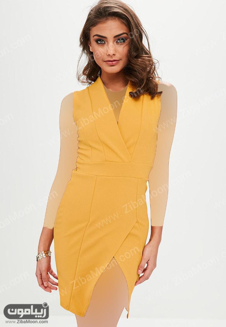 رنگ لباس زرد برای پوست گندمی و سبزه