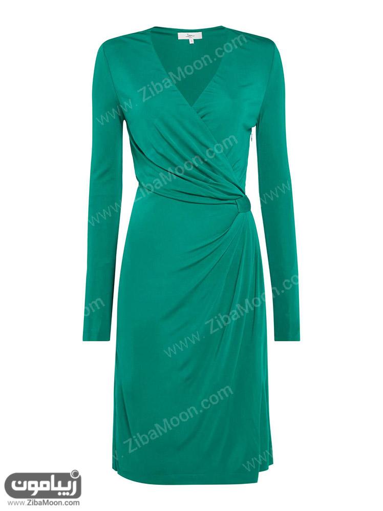 لباس زنانه سبز رنگ