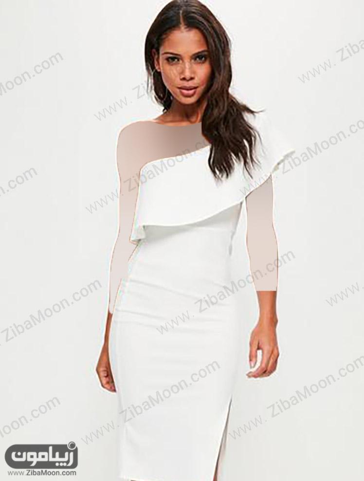 رنگ لباس سفید برای پوست سبزه