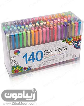 خودکار ژلی رنگارنگ