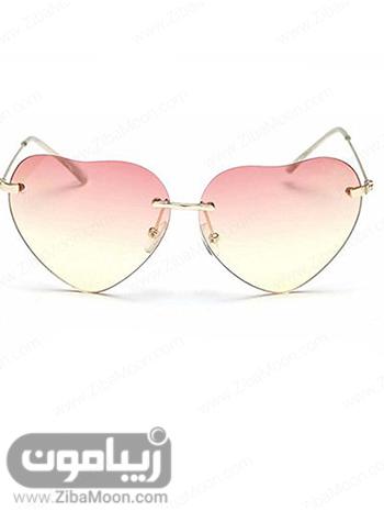 عینک آفتابی به شکل قلب