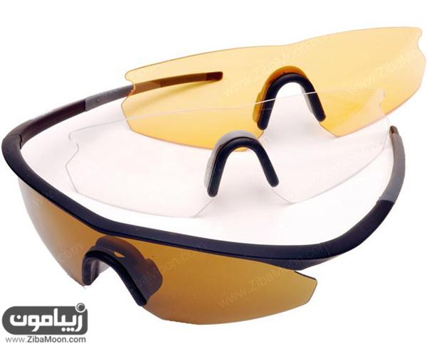 عینک دوچرخه سواری Madison D'Arcs triple glasses set