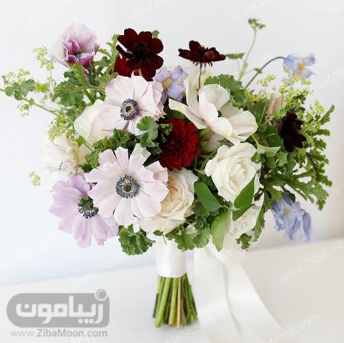 دسته گل پاییزی برای عروس