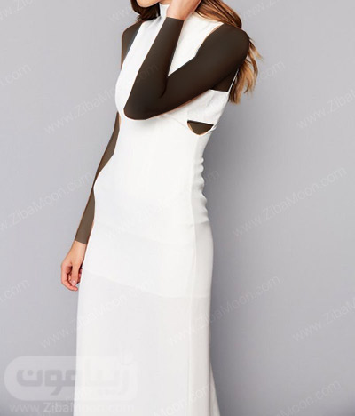 لباس عروس ساده با طراحی زیبا