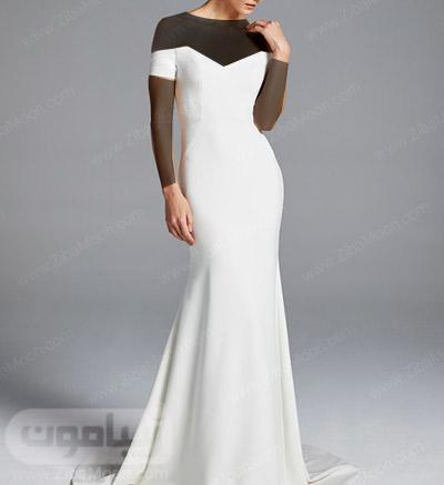 لباس عروس جدید و ساده