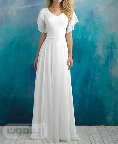 لباس عروس حریری و شیک