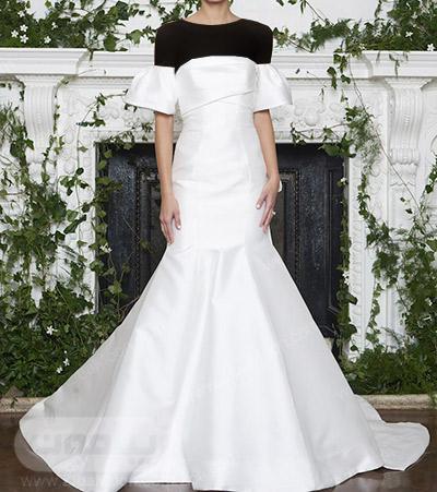 مدل لباس عروس ساده با طراحی جدید و زیبا