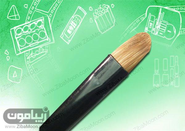 قلمو سر مخروطی نیمه صاف