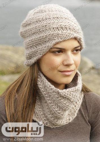 کلاه زمستانی دخترانه اینستا