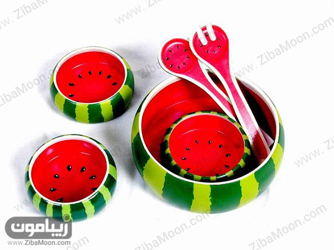 ظرف با طح هندوانه تم یلدا