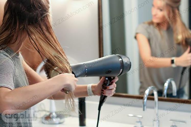 خشک کردن زیر مو
