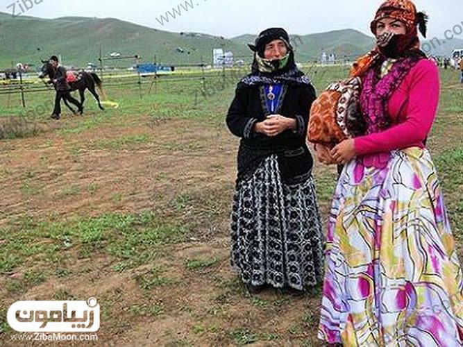 زیبایی لباس عشایر آذربایجان
