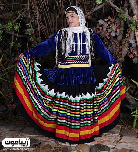 زیبایی لباس گیلانی