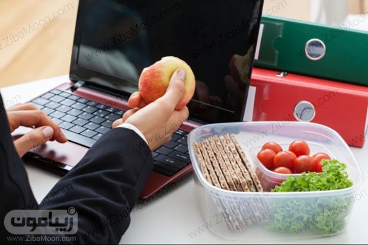 تغذیه سالم کارمند