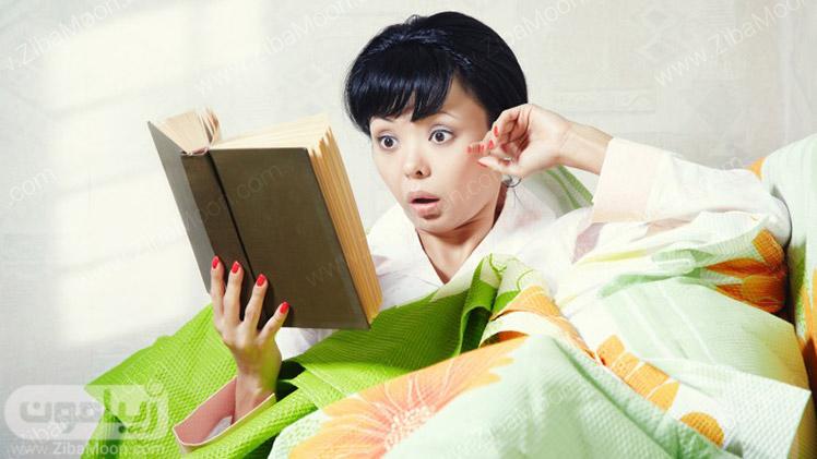 خواندن کتاب ترسناک و هیجان انگیز