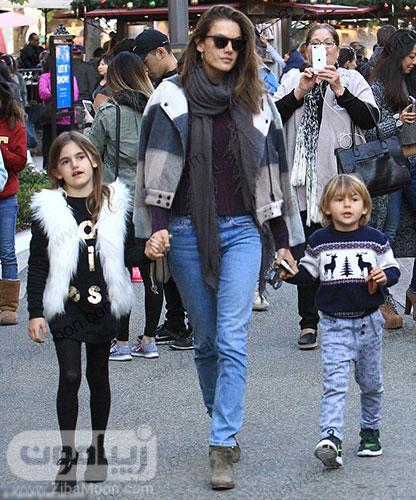 الساندرا امبروزیو و بچه هاش