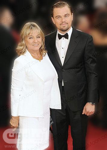دی کاپریو و مادرش