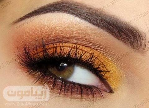 سایه چشم زرد پرتقالی