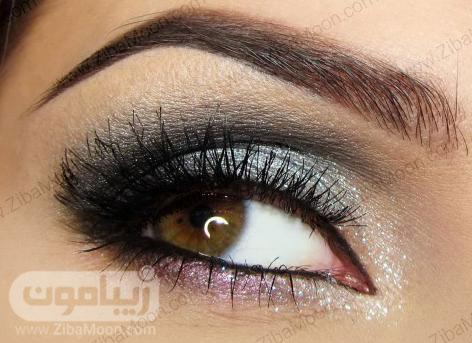 سایه چشم نقره ای