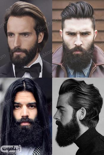 مدل ریش بلند