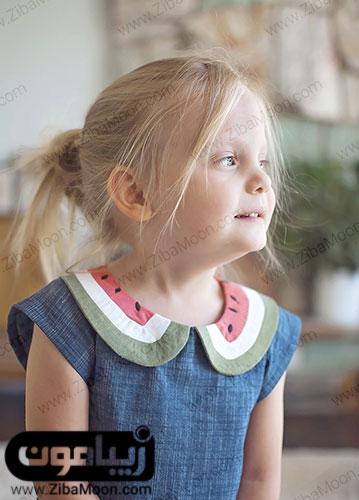 لباس دخترونه با طرح هندوانه