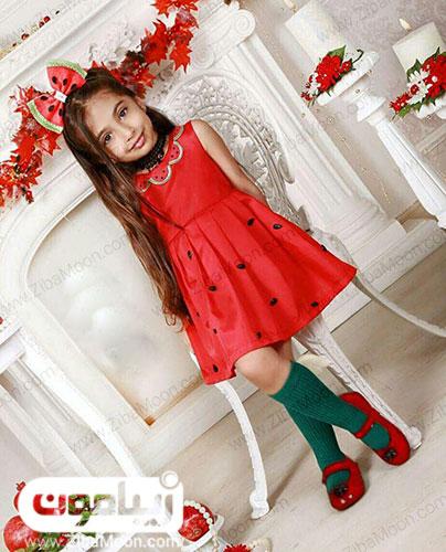 لباس هندوانه دخترانه