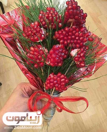 دسته گل انار برای عروس