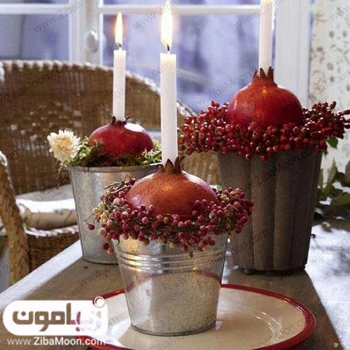 دیزاین انار یلدا