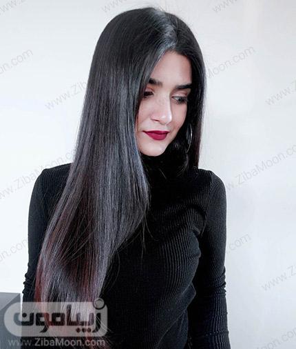 موهای صاف و ابریشمی