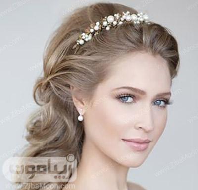 آرایش عروس اروپایی و شیک