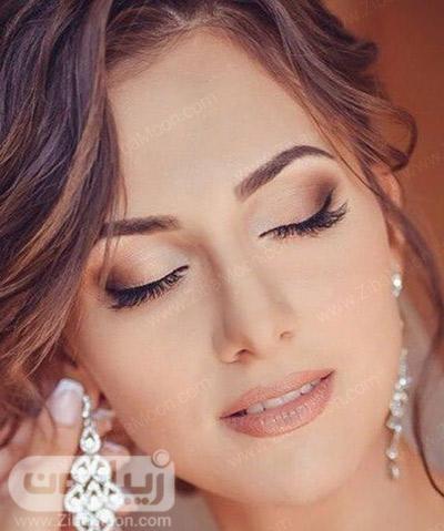آرایش عروس اروپایی ساده و لایت