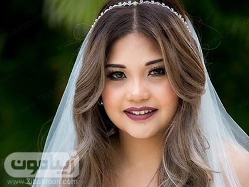 مدل آرایش لای و سبک برای عروس