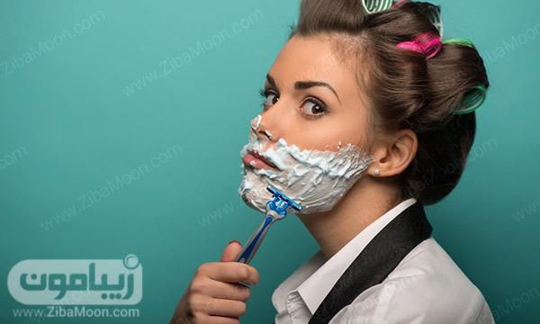 شیو کردن صورت