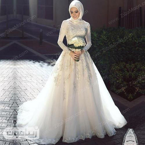 عروس محجبه