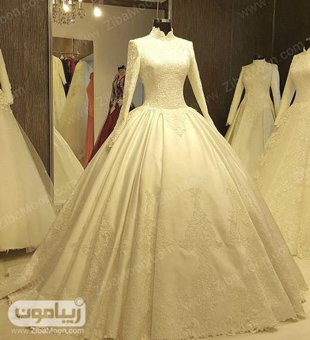 لباس عروس پرنسسی و محجبه