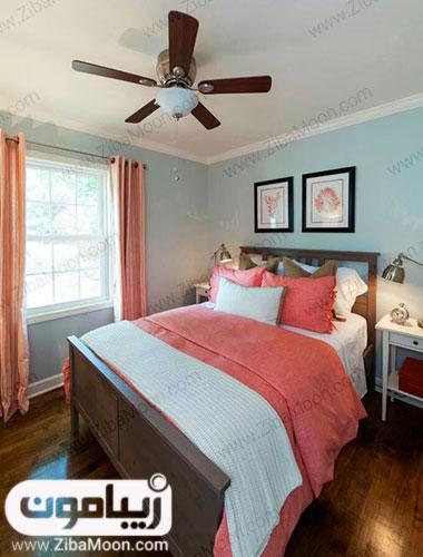 اتاق خواب با رنگ سال 97