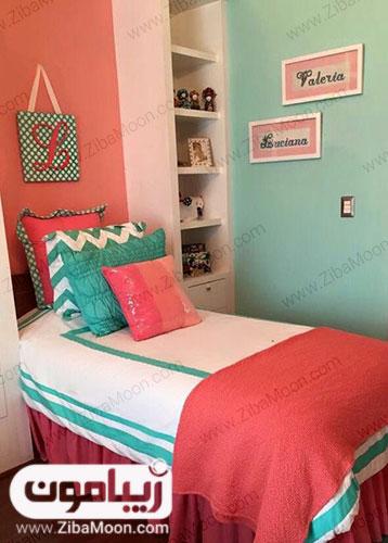 اتاق خواب با رنگ 2019