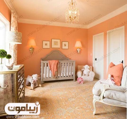 اتاق خواب رنگ سال 2019