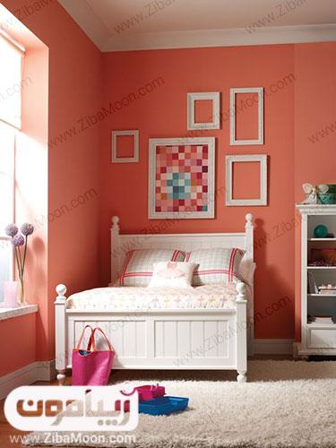 اتاق خواب زیبای مرجانی