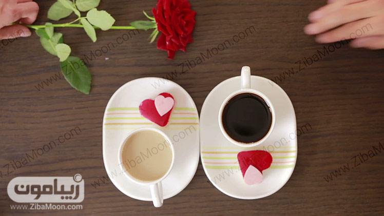قهوه و شیرینی