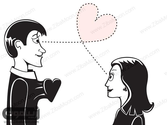 زن و مرد عاشق