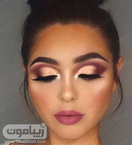 مدل آرایش صورت زیبا و جذاب برای عروسی و مجالس