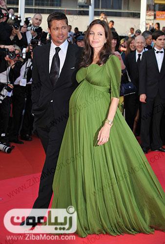 آنجلینا جولی حامله