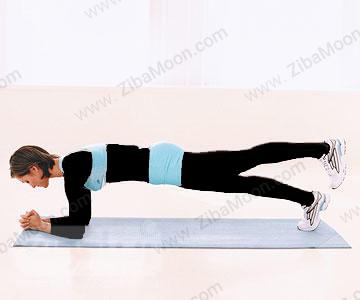کاهش وزن با حرکت پلانک کششی