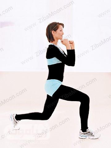 کاهش وزن با حرکت کیک لانچ