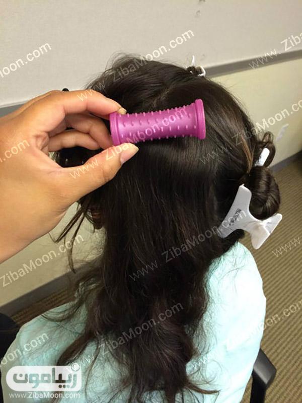 آموزش فر کردن مو با بیگودی