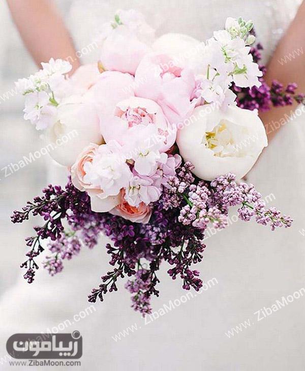 دسته گل عروس شیک و بهاری