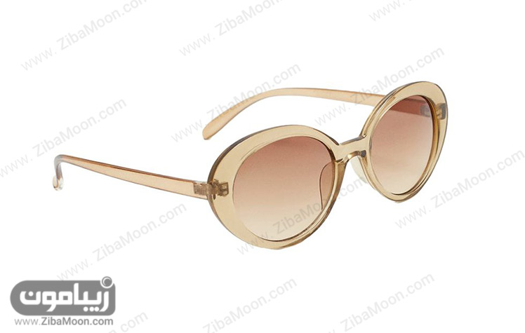 عینک آفتابی با فریم شیشه ای