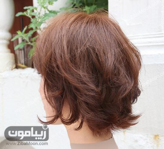 مدل موی کوتاه لایه ای